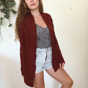 Element knit cardigan